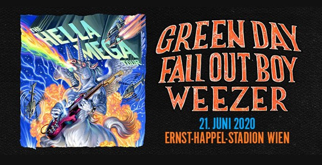 Green Day Fall Out Boy Weezer Karltours